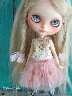 """Little petals"" by Petite Apple Blythe outfit"