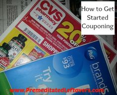 how to get started couponing