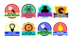 Badges for Reading - Encouraging Variety