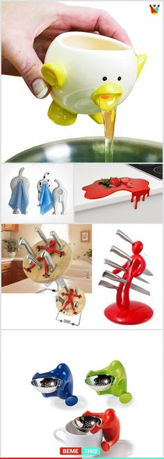23 of The Funniest Yet Creative Kitchen Gadgets You Will Enjoy #gadgets #kitchen #funnygadgets #creativetools #bemethis #funnypics