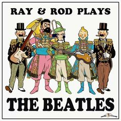 Les Aventures de Tintin - Album Imaginaire - The Beatles