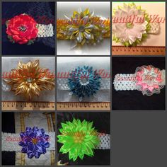 Your place to buy and sell all things handmade Flower Hair, Girls Accessories, Hair Band, All Things, Bows, Trending Outfits, Unique Jewelry, Handmade Gifts, Flowers