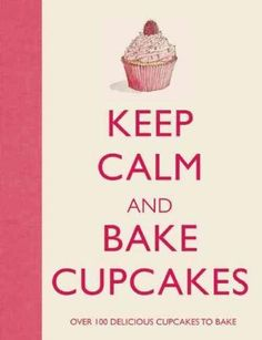 Cupcakes are all the rage, and there are new cupcake patisseries popping up all the time! Why spend tons of money when you can bake your very own delectable desserts with Keep Calm and Bake Cupcakes ?
