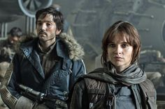Meet the cast of 'Star Wars: Rogue One' the first released set photo
