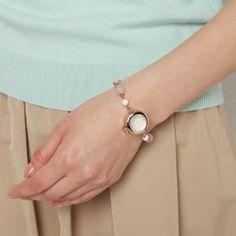 天然石ブレス腕時計