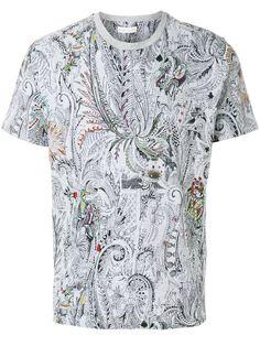 ETRO paisley print T-shirt. #etro #cloth #