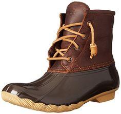 Sperry Top-Sider Women's Saltwater Boot, Tan/Dark Brown, ... https://www.amazon.com/dp/B00PKHHRN6/ref=cm_sw_r_pi_awdb_x_G-JKybGX9990R