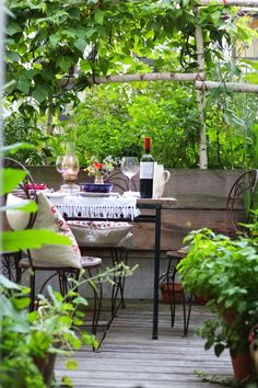 66 Square Feet (Plus): Once, upon a terrace...