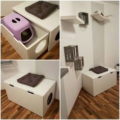 Great Free Litter box from Ikea Stuva Strategies There's nothing Greater th. - Great Free Litter box from Ikea Stuva Strategies There's nothing Greater than a intelligent I - Diy Litter Box, Hidden Litter Boxes, Litter Box Enclosure, Ikea Cat, Cat Toilet, Cat Hacks, Hacks Diy, Cat Room, Ikea Furniture