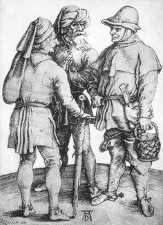 Durer (to Pieter Bruegel?)