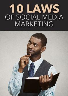 10 Laws of #SocialMediaMarketing