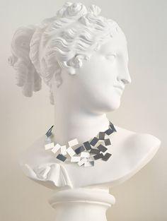 Fiato Sul Collo Necklace By Mario Trimarchi for Alessi