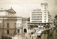 """Bucureşti Blocul """"Adriatica"""" a fost ridicat în 1938, pe locul fostei case Torok, veche proprietate a familiilor Ghica-Catargi."""