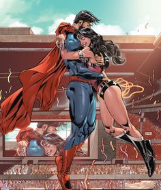 Superman/Wonder Woman | Tumblr