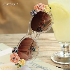 Цветы / 2014 новые трехмерные декоративные очки европейских и американских барокко солнцезащитные очки г-жа богемный курорт стиль - Taobao