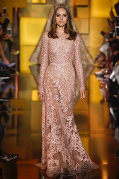Elie Saab Fall 2015 Couture Fashion Show