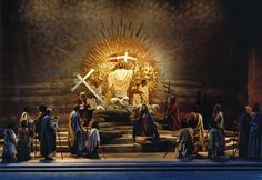 The Oberammergau Passion Play in Germany - again and again.