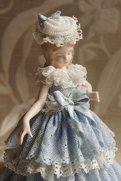 Porcelánová panenka * Dresden
