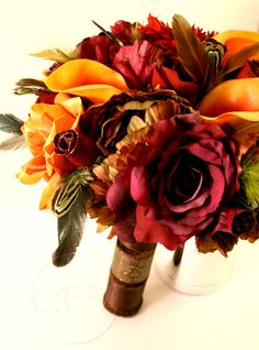 fall wedding bouquets | wedding flowers brides bouquets fall flowers