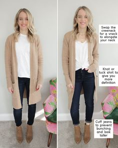 Make your outfit go from simple to styled with these simple swaps!