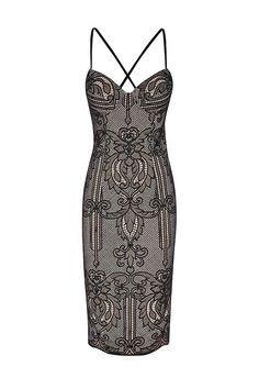 Lunar Lace Dress, $219.95