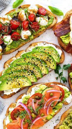 Healthy Breakfast Recipes, Healthy Snacks, Vegetarian Recipes, Healthy Eating, Cooking Recipes, Healthy Recipes, Easy Recipes, Healthy Morning Breakfast, Gourmet Breakfast