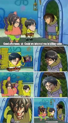 Attack on Titan funny