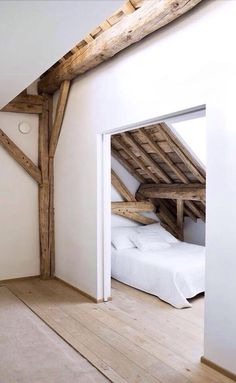 Check Out 39 Dreamy Attic Bedroom Design Ideas. An attic bedroom is usually associated with romance because it's great to get the necessary privacy. Attic Renovation, Attic Remodel, Attic Bedrooms, Home Bedroom, Bedroom Ideas, Budget Bedroom, Master Bedroom, Eaves Bedroom, Attic Bedroom Small