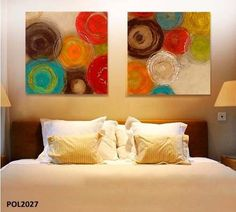 modern abstract painting Colored circles decorative artist canvas wall art for home Poster picture print living room decoration _ {categoryName} - AliExpress Mobile Version - Diy Canvas Art, Artist Canvas, Canvas Wall Art, Wall Art Prints, Cheap Paintings, Abstract Paintings, Art Mural, Acrylic Art, Fabric Painting