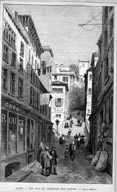 Lyon, rue des Canuts