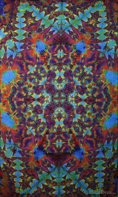 Tie-Dyed Tapestry from HugoDyes.Com by HugoDyesCom on DeviantArt