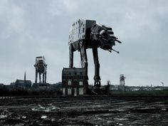 Star Wars photoshopped into Real-life photos