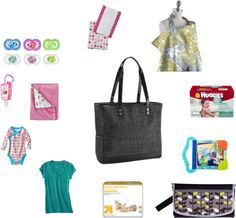 What to pack in a diaper bag. A good guide for new moms.