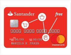 Como solicitar o Cartão de crédito Free Santander Mastercard sem anuidade https://dicassobrecartoes.blogspot.com.br/2017/09/como-solicitar-o-cartao-de-credito-free.html
