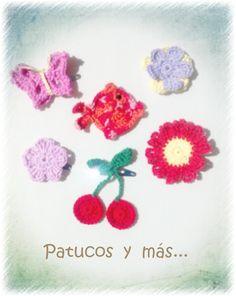 Horquillas de ganchillo. Crochet hairpin. Crochet Earrings, Crochet Necklace, Bobby Pins, Beautiful Things, Dots, Sewing