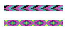 Crystal Creations and Inspirations: Bright Native Loom Bracelets