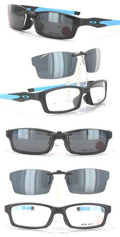 Other Vision Care: Custom Fit Polarized Clip-On Sunglasses For Oakley Crosslink Ox8029 56X17 8029 -> BUY IT NOW ONLY: $58.88 on eBay!