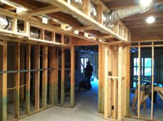 wall and ceiling framing