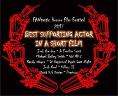 Randy Wayne, Best Short Films, Cry It Out, Danny Trejo, Best Supporting Actor, Horror Film, Best Actor, Feature Film, Film Festival