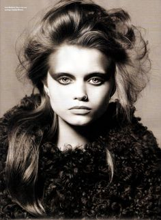 Fashion pictures or video of Abbey Lee Kershaw in I-D Winter 2009 (NSFW); in the fashion photography channel 'Photo Shoots'. Black White Photos, Black And White, Fashion News, Fashion Models, Abbey Lee Kershaw, Grunge, Wordpress, Abby Lee, Children Images