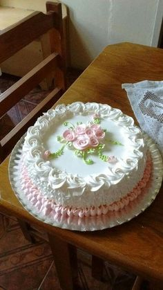 Cheesecake by opal Cake Frosting Designs, Cake Icing, Buttercream Cake, Cake Designs, Eat Cake, Cupcake Cakes, Cake Decorating Techniques, Cake Decorating Tips, Cookie Decorating