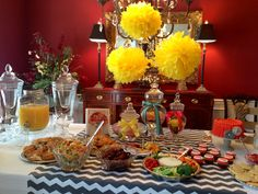 What an adorable bridal shower :) brunch? Mamosas?