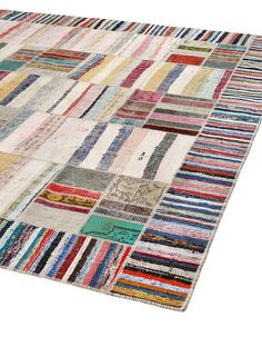 This type rug can be made custom sizes. For a 9x12, maybe $1400?, considering the 10x10 (126 x 123 Inches pictured here) is $1219. Handwoven - Cotton.