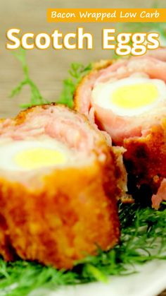 Recommended Tips:Bacon Wrapped Low Carb Scotch Eggs - Recommended Tips Healthy Diet Recipes, Ketogenic Recipes, Low Carb Recipes, Keto Snacks, Ketogenic Diet, Egg Recipes, Other Recipes, Recipes Dinner, Cannabis