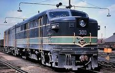 Reading FA1/FB1 Alco Diesel Locomotives.