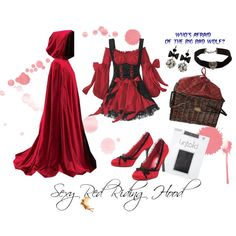 Sexy Red Riding Hood #costume #dressup #halloween