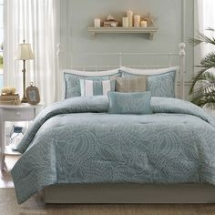 Madison Park Seaside 7-Piece Comforter Set - Overstock Shopping - Great Deals on Madison Park Comforter Sets