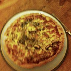Test pizza