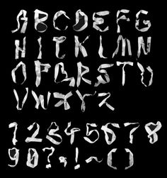 Typeface Design - rochellejiang
