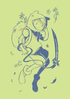 Fern by greenbudbowl on DeviantArt Adventure Time Drawings, Adventure Time Cartoon, Adventure Time Wallpaper, Adventure Time Finn, Marceline, Cartoon Shows, Cartoon Art, Adveture Time, Character Art